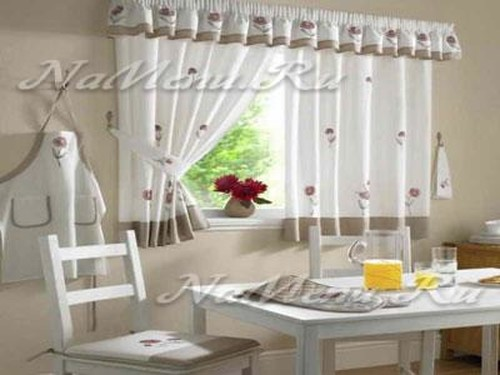 Amazoncom kitchen window treatments Home amp Kitchen