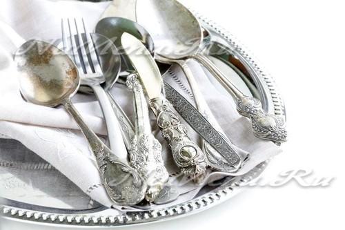 Чем почистить серебро в домашних условиях