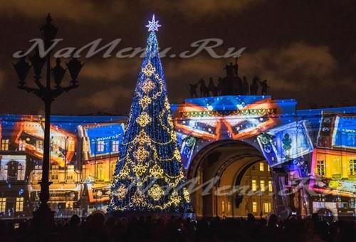 Где отметить Новый год 2018 в СПб, вариант встречи Нового года