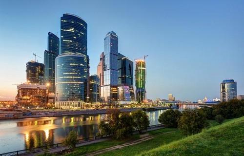 пейзаж Москвы