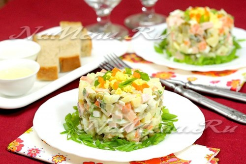 салат Московский