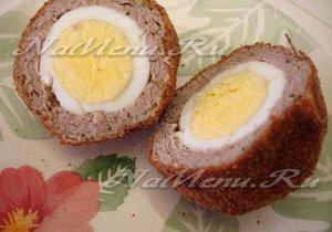 вареные яйца в фарше