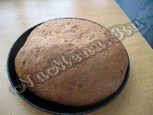 Готовый хлеб из сухого кваса
