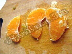 Почистить мандарин
