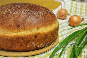 Луковый хлеб на сыворотке