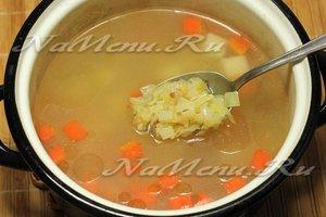 Суп мясной с галушками пошаговый рецепт с