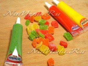 Берем сахарные краски