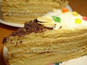 торт медовый рецепт