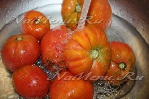 помидоры помойте