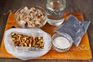 Ингредиенты для приготовления кутьи из пшеницы