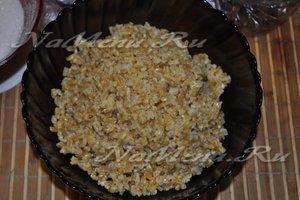 выложим пшеницу