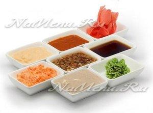 соусы для суши и роллов в домашних условиях
