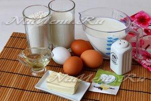 Как сделать вафельные коржи в домашних условиях
