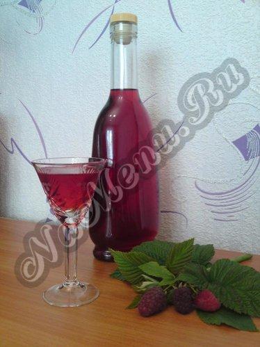 малиновый ликер на водке рецепт приготовления