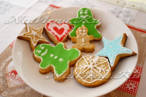 фигурное печенье для детей рецепт с фото