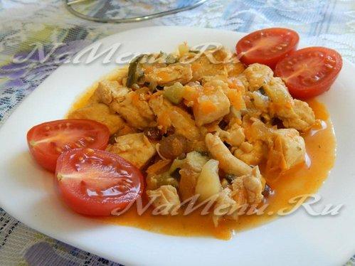 Плов из свинины с помидорами рецепт с пошагово