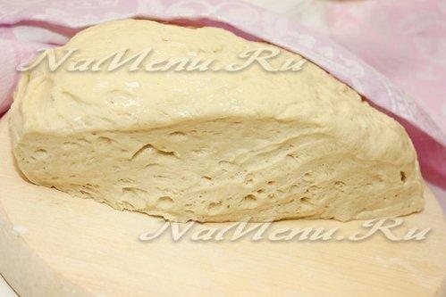 Дрожжевое тесто безопарный способ
