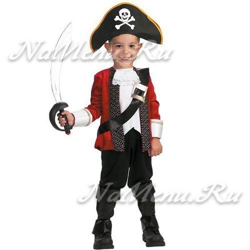 Костюм пирата для мальчика на Новый год