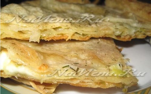 Хачапури из лаваша