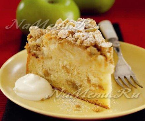 приготовление шарлотки из яблок в духовке рецепт
