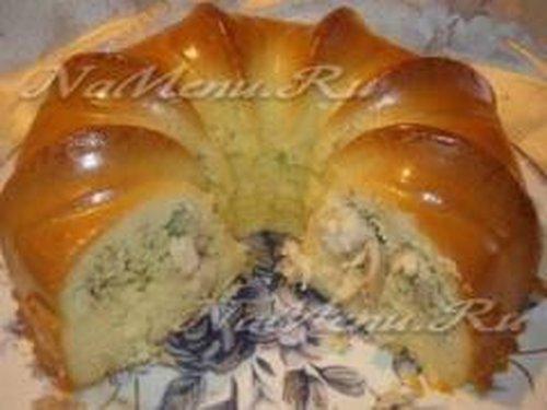Простое тесто для пирога с капустой