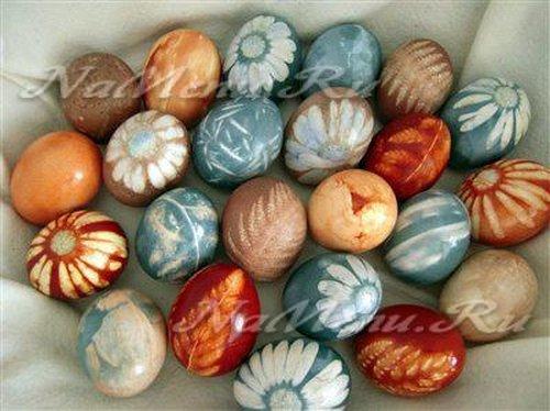 Как красить яйца в домашних условиях