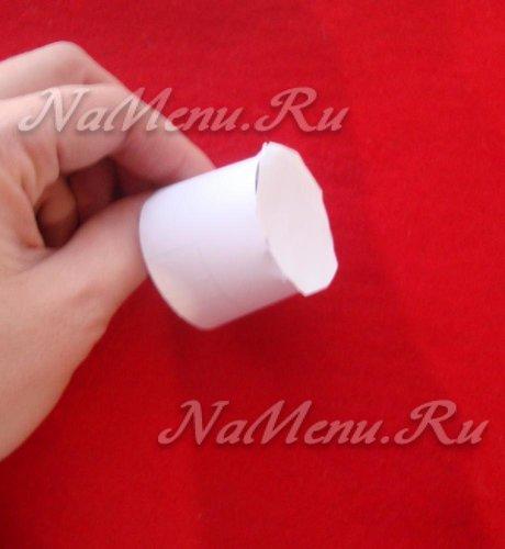 Бумажный цилиндр для шапки