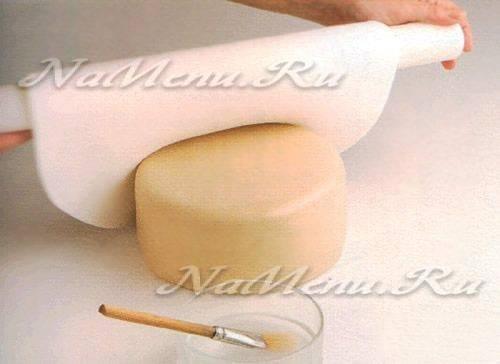 Новогодние торты из мастики