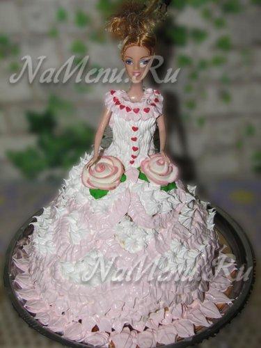 """Торт """"Кукла Барби"""""""