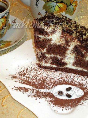 Шоколадный торт «Панчо с вишней»