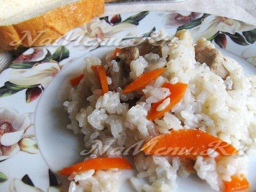 Плов с курицей в мультиварке филипс рецепт с фото пошагово