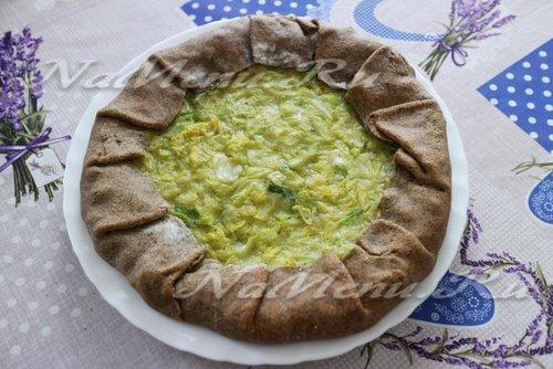 Постная галета с савойской капустой