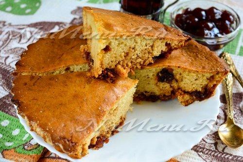 Пирог из печени с картофелем рецепт