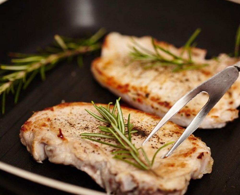 Сколько жарить мясо на сковороде