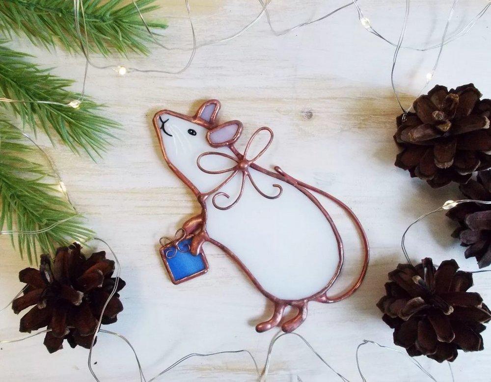 Открытка на год крысы своими руками, интересно оформить открытку