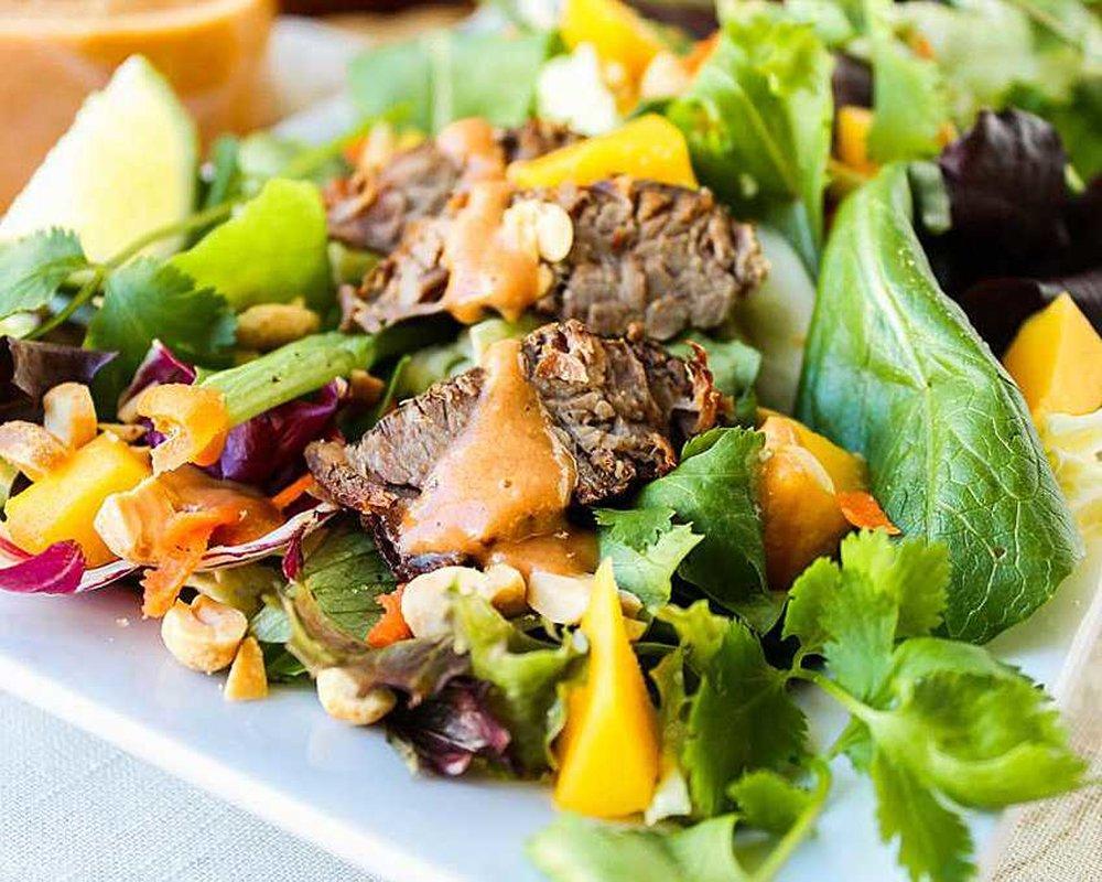 всем салат из мяса говядины рецепты с фото узнали ней