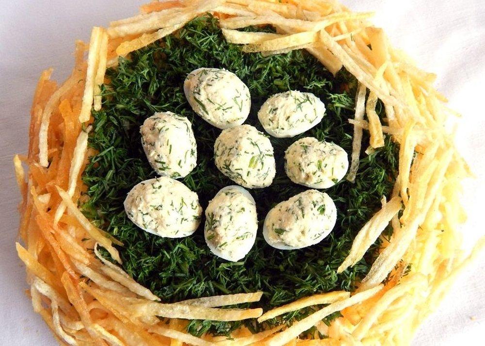 ещё салат гнездо глухаря рецепт с фото пошагово отличное настроение будет