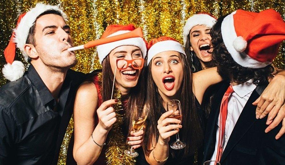 Картинки с друзьями на новый год