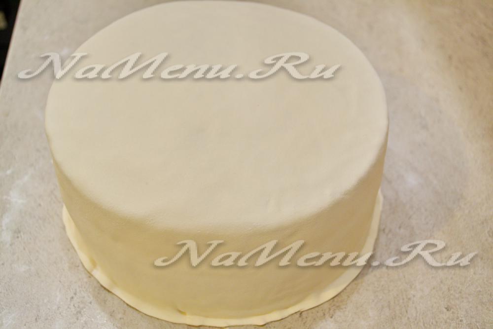 бисквитный торт под мастику рецепт с фото добиться успеха бизнесе