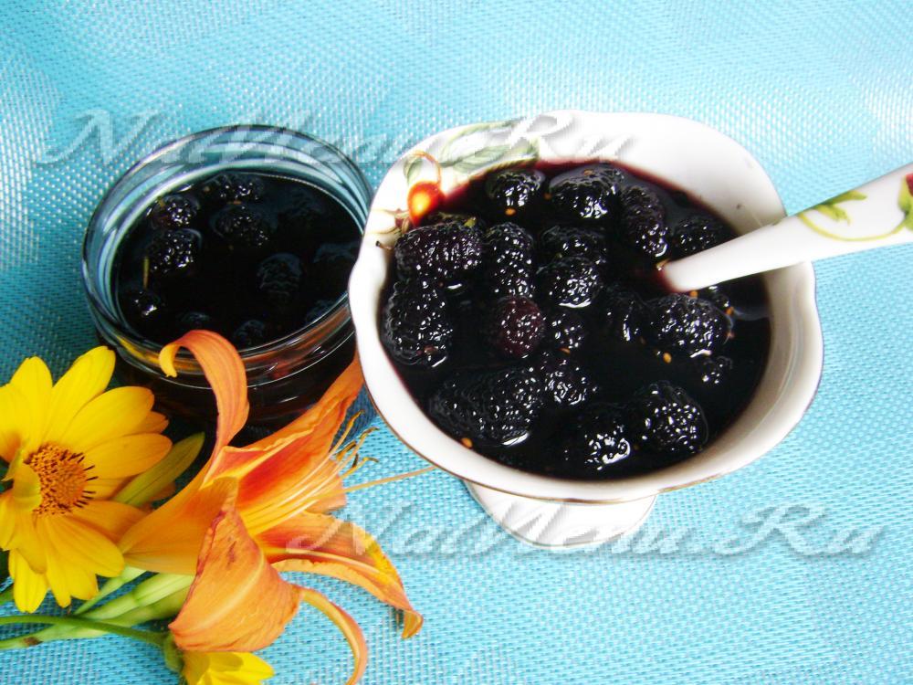 варенье из шелковицы рецепт с фото пошагово премиум-версия