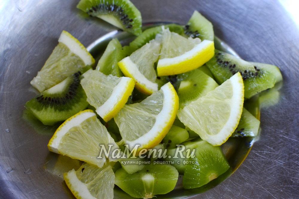 Лимон и киви для похудения