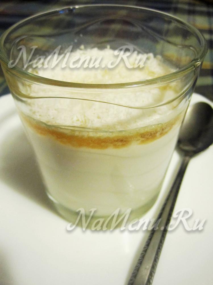 Десерты с кокосовым молоком рецепт