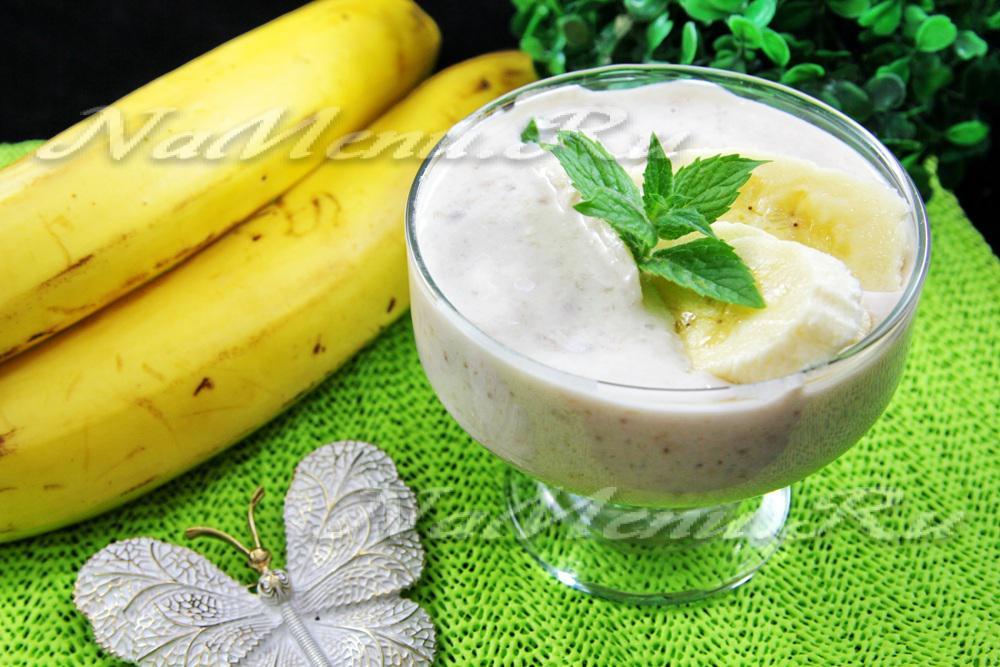 Банановый йогурт в мультиварке рецепт с фото