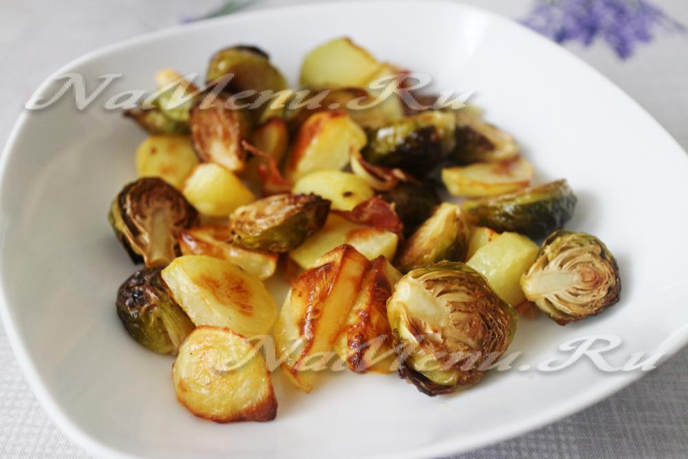 Рецепт брюссельской капусты в духовке — pic 6