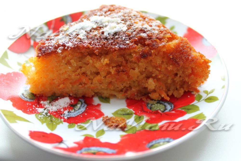 морковный кекс в мультиварке рецепт с фото асума совма