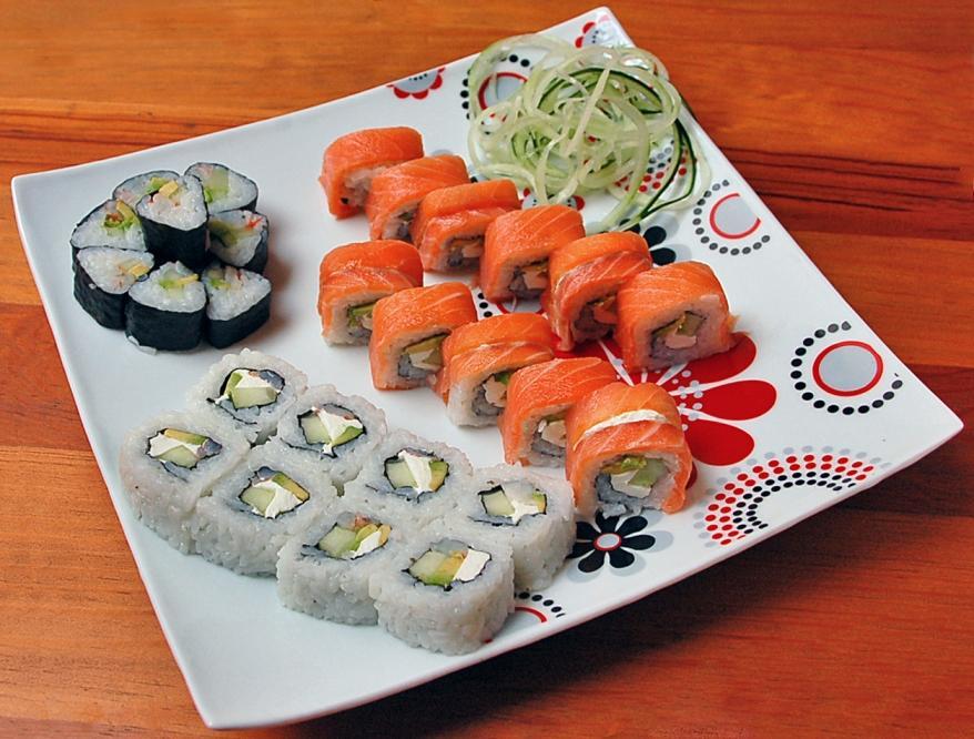 Фото рецепт приготовления суши в домашних условиях