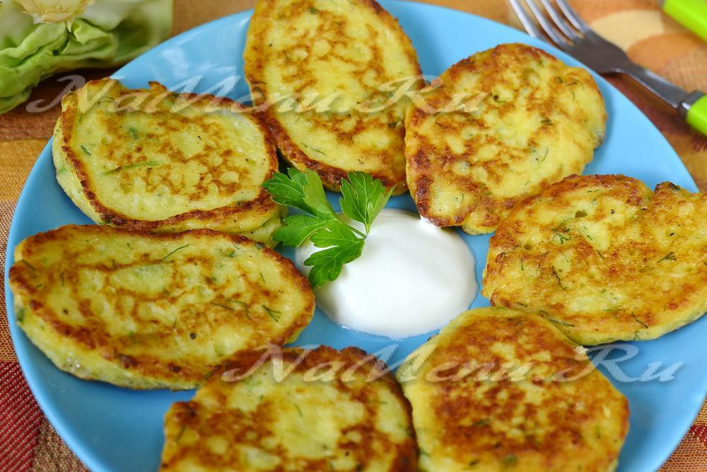 капустные оладьи на кефире рецепт с фото сегодняшней
