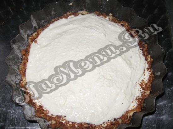 Начинка торта валентинки из творога
