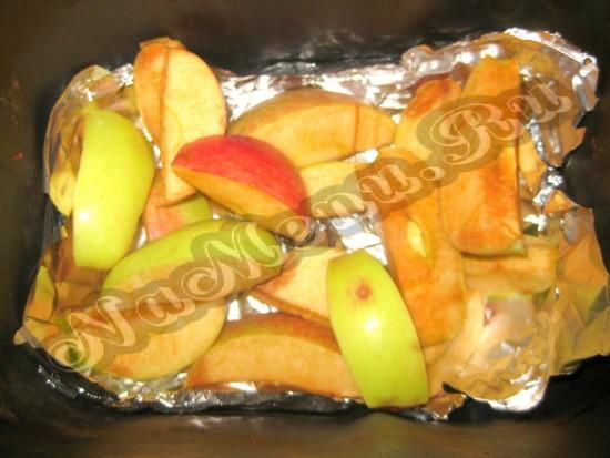 Печем яблоки