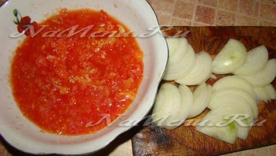 Готовим томат